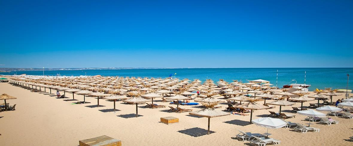 Bulharsko - pláž