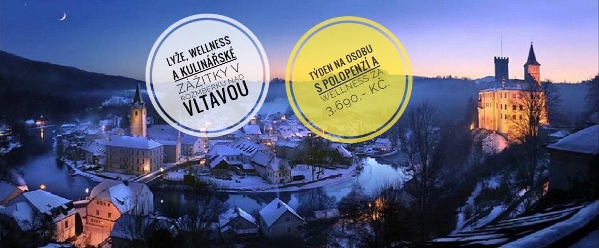 Rožmberk nad Vltavou - týdenní lyžařské pobyty
